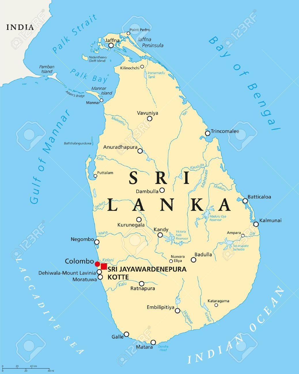 59360979-sri-lanka-mapa-político-con-mayúsculas-sri-jayawardenepura-kotte-y-colombo-ciudades-importantes-ríos-y-lagos